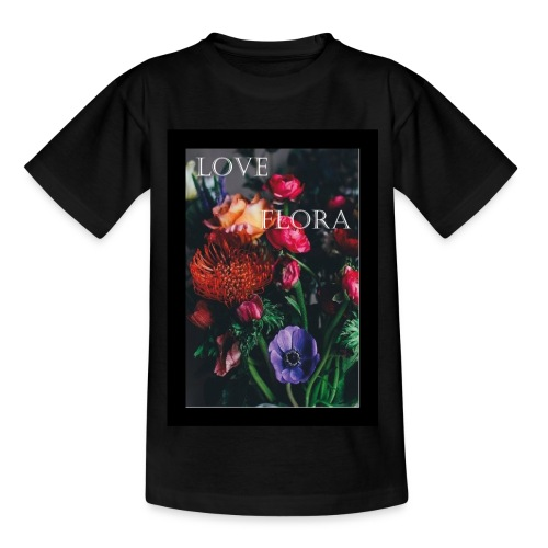Love Flora - Kinder T-Shirt