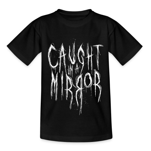 Caught in a Mirror - white - Kinder T-Shirt