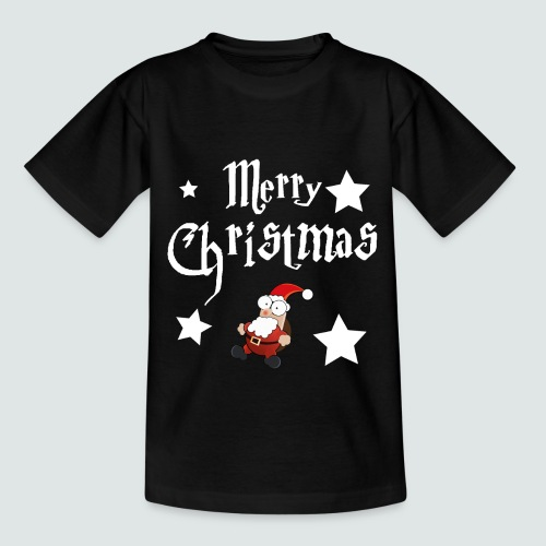 Merry Christmas - Ugly Christmas Sweater - Kinder T-Shirt