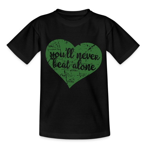 sanvalentino Verde - Maglietta per bambini