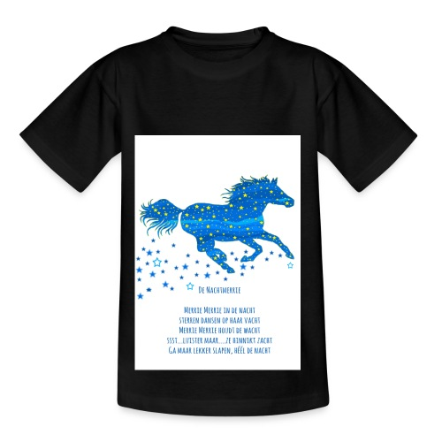 Kindershirt Nachtmerrie - Kinderen T-shirt