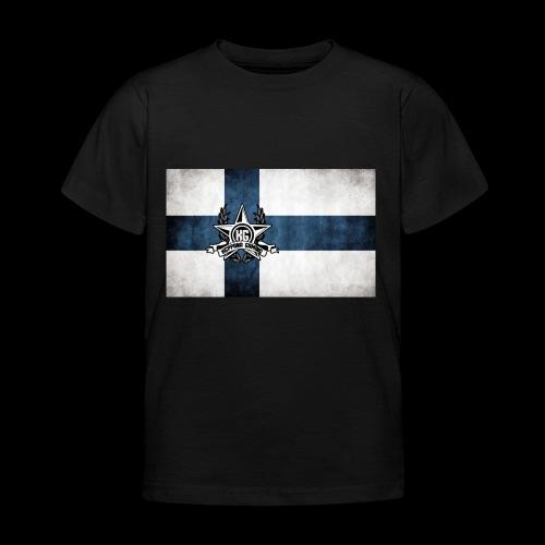 Suomen lippu - Lasten t-paita