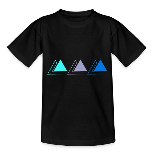 triple pyramide - T-shirt Enfant