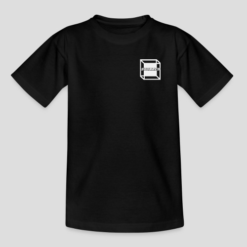 Squared Apparel White Logo - Kids' T-Shirt