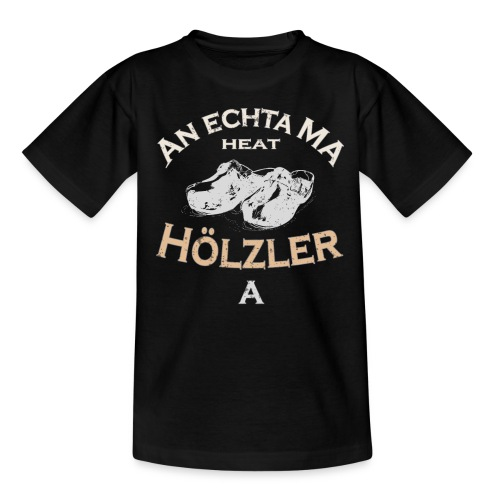 Hölzler Holzschuhe - Kinder T-Shirt