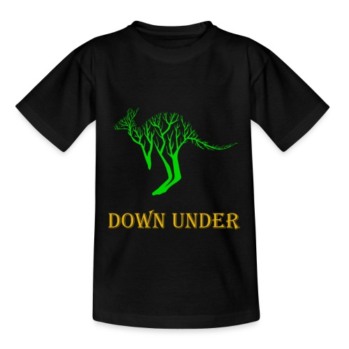Down Under Kangaroo - Kinder T-Shirt
