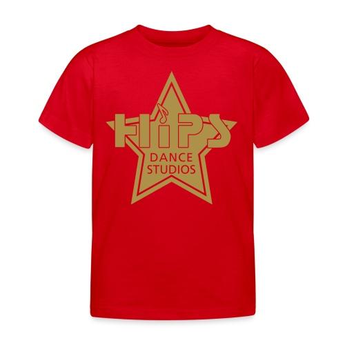 enkelt star - Børne-T-shirt