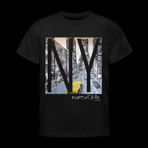 TIME SQUARE - Kinder T-Shirt
