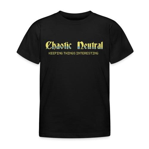 Chaotisch Neutral - Kinder T-Shirt