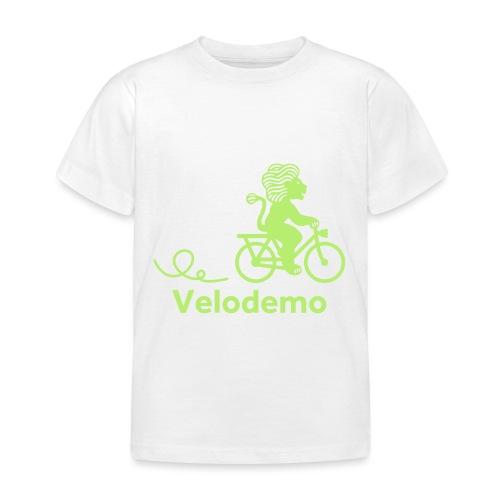 Züri-Leu mit Text - Kinder T-Shirt