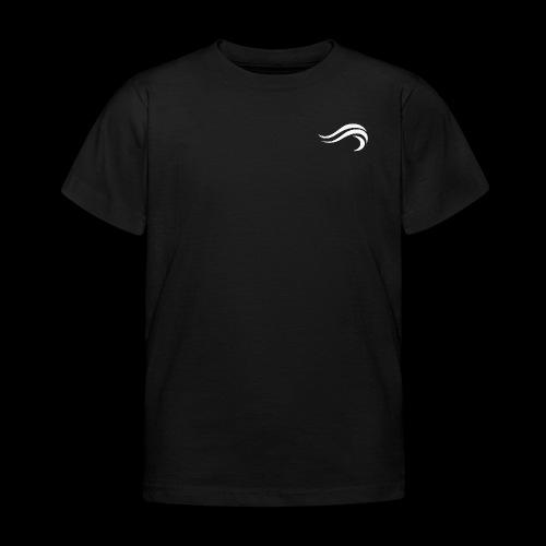 WHITE WAVY. LOGO - T-shirt Enfant