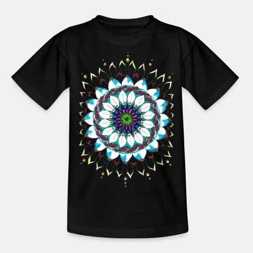 Flower Mandala 2016 - Kids' T-Shirt