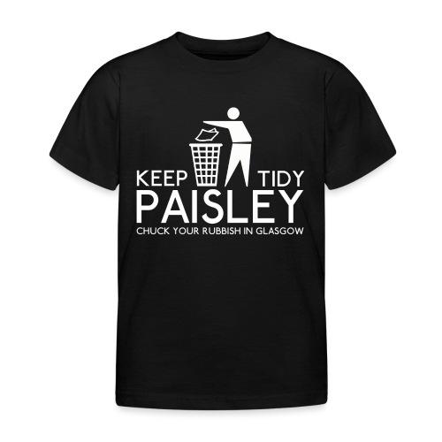 Keep Paisley Tidy - Kids' T-Shirt