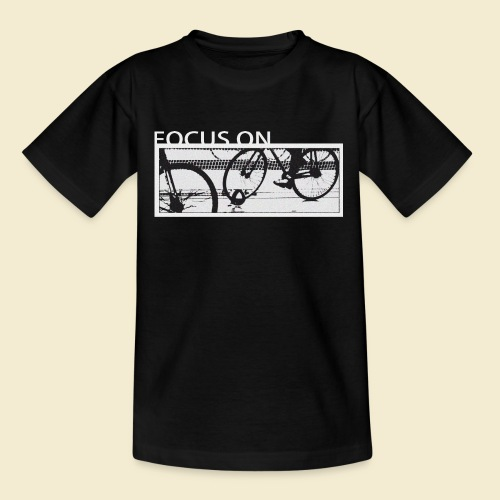 Radball Focus On - Kinder T-Shirt