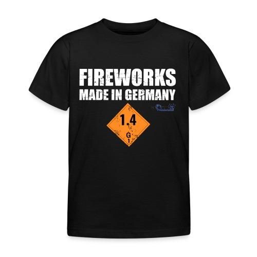 Feuerwerk aus Deutschland Pyrotechnik - Kinder T-Shirt