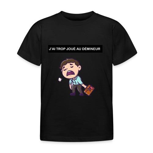 J'ai trop joué au démineur - T-shirt Enfant