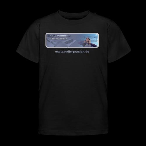 Radio PARALAX Classic-Logo mit Webadresse - Kinder T-Shirt