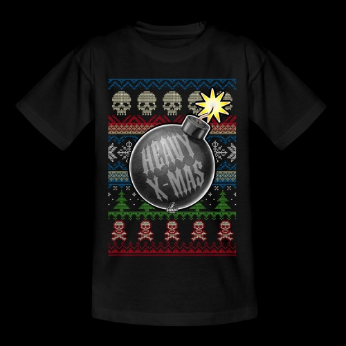 Heavy X-Mas Christbaumkugel-Bombe - Kinder T-Shirt