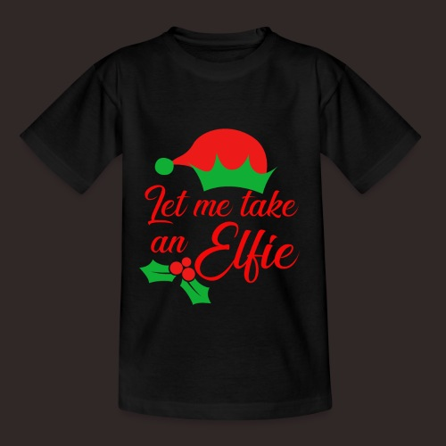 Weihnachten | Elf Mütze Weihnachtself Wortspiel - Kinder T-Shirt