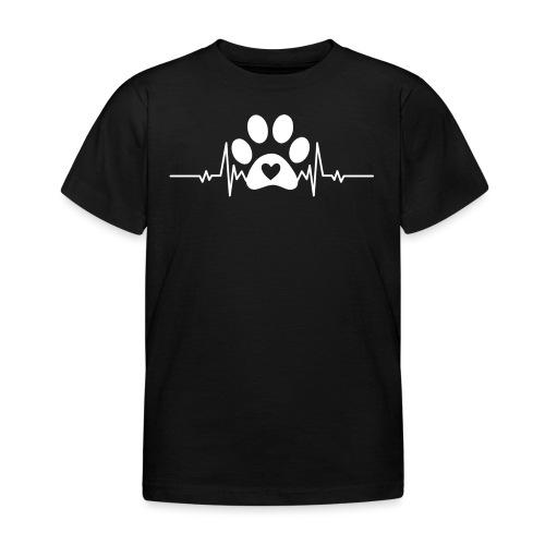 Fingerprint the dog - Camiseta niño