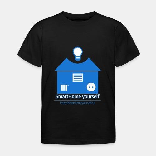 SmartHome yourself Logo Groß - Kinder T-Shirt