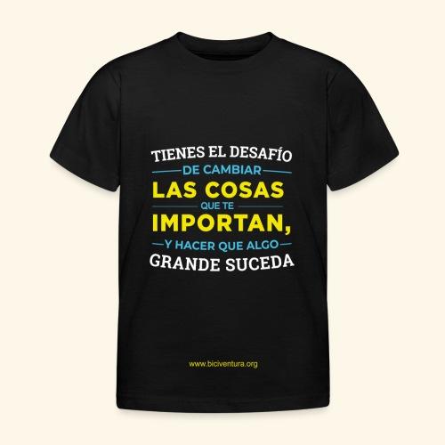 Cambia las cosas - Camiseta niño