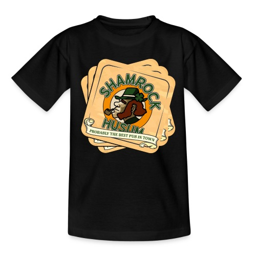 Shamrock Husum Logo Bierdeckel - Kinder T-Shirt