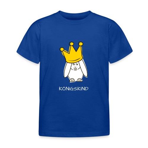 hipps koenigskind weiss - Kinder T-Shirt
