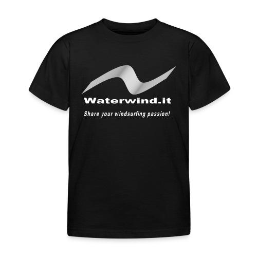 Logo lycra nos sfondo bia - Kids' T-Shirt