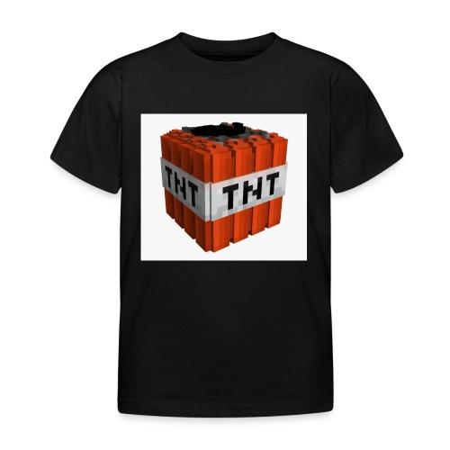 tnt block - Kinderen T-shirt