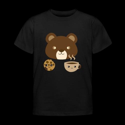 Oso Merendando - Camiseta niño