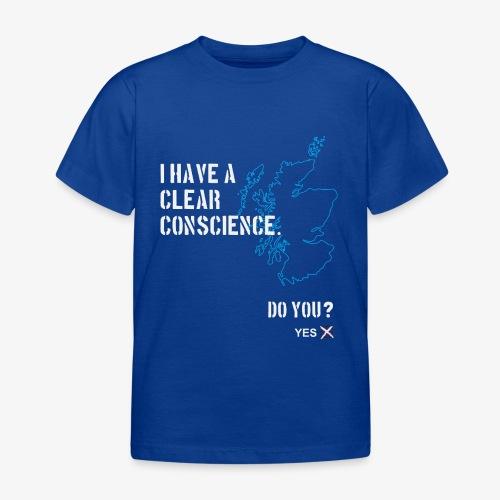 Clear Conscience - Kids' T-Shirt