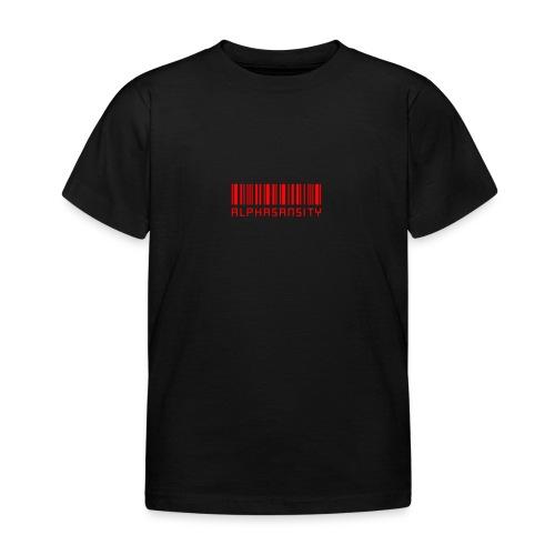 BASS X ALPHASANSITY - Kinderen T-shirt