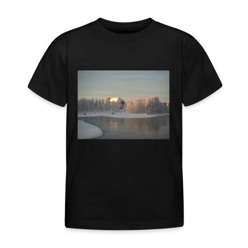 Talvinen Joensuu - Lasten t-paita