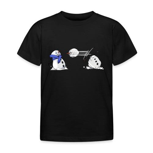 Bataille de boules de neige - T-shirt Enfant