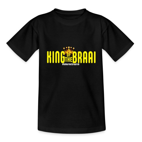 KING OF THE BRAAI - Kinderen T-shirt