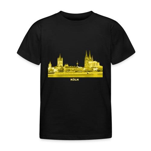 Köln Dom Rhein Nordrhein-Westfalen Deutschland - Kinder T-Shirt