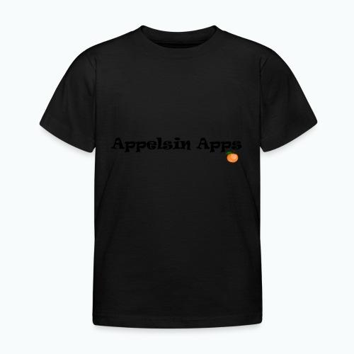Appelsin Logo - T-shirt barn