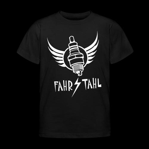 Fahrstahl Zündkerze - Kinder T-Shirt