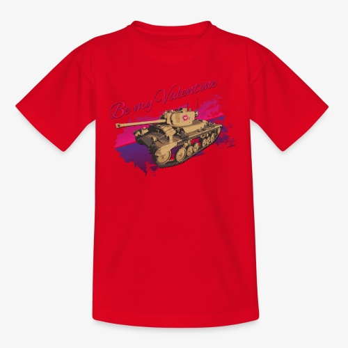 Be my Valentine Tank - Kinder T-Shirt