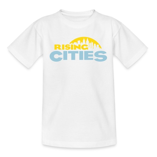 Rising Cities Logo stylized - Kinder T-Shirt