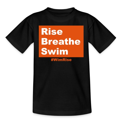 Rise Breathe Swim - Kids' T-Shirt