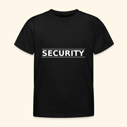 SECURITY - Kinder T-Shirt