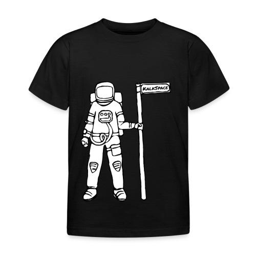 KalkSpace Astronaut - Kinder T-Shirt