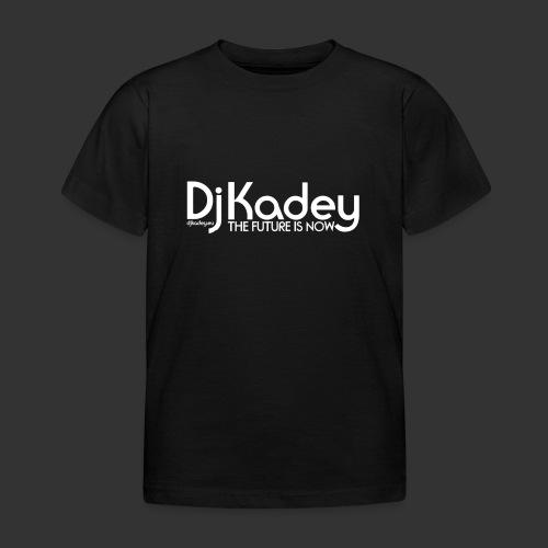White Dj Kadey Logo - T-shirt Enfant