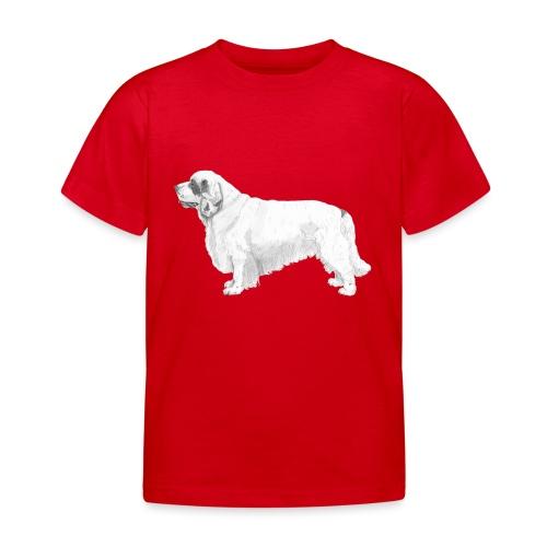 clumber spaniel - Børne-T-shirt