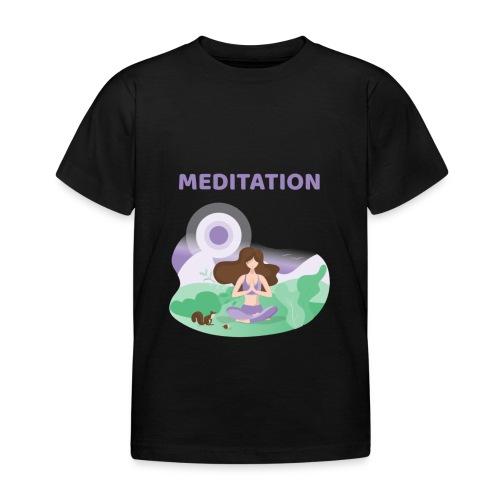 Yoga Meditation - Maglietta per bambini