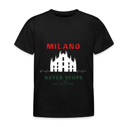 MILAN NEVER STOPS T-SHIRT - Kids' T-Shirt