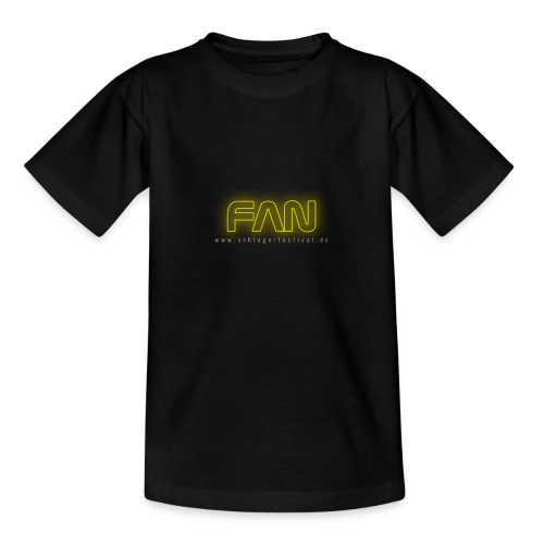 Fan (neon) - Kinder T-Shirt