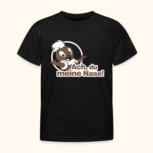 Pittiplatsch Ach, du meine Nase 2D - Kinder T-Shirt